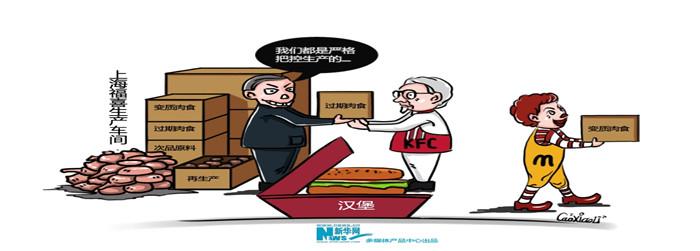 """""""上海福喜肉""""事件被曝光"""